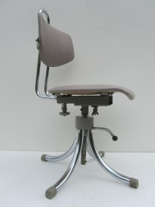 Tubax, industriele, vintage, bureaustoel, werk, stoel, office, chair, adjustable